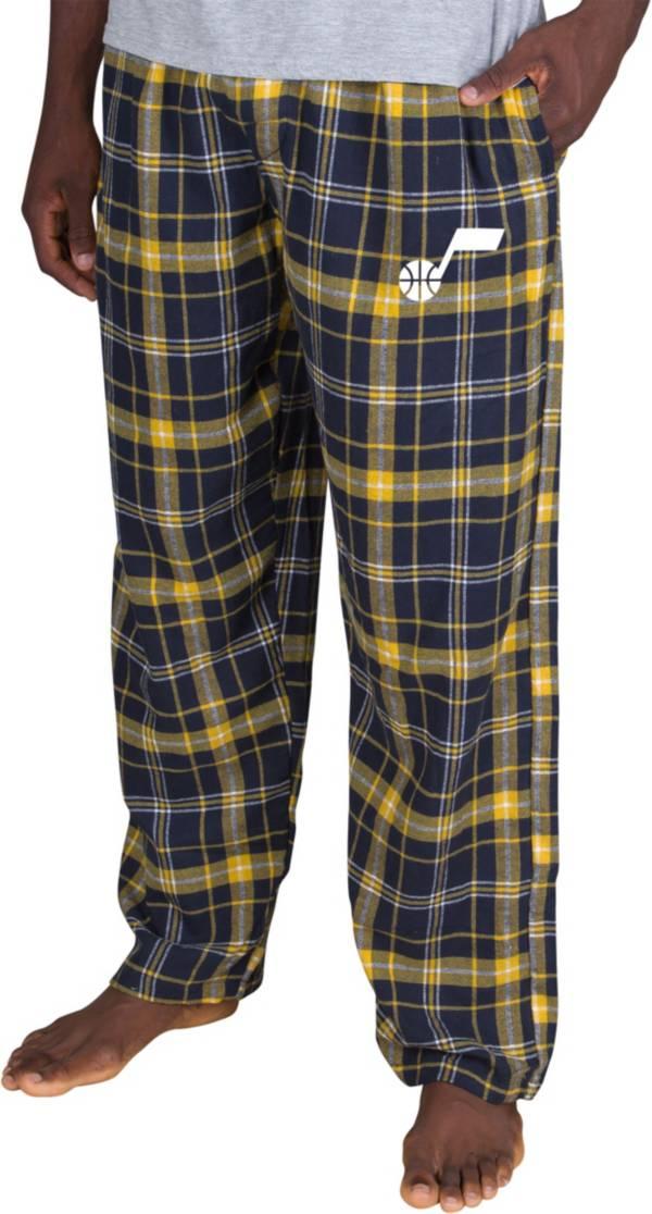 Concepts Sport Men's Utah Jazz Ultimate Plaid Flannel  Pajama Pants product image