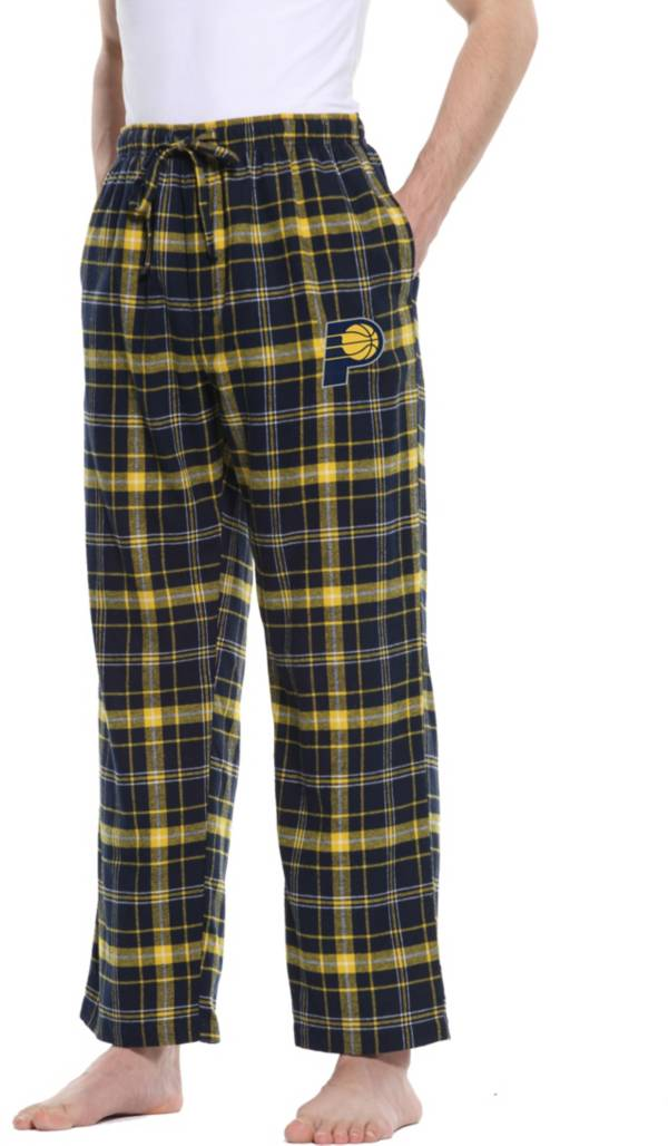Concepts Sport Men's Indiana Pacers Ultimate Plaid Flannel  Pajama Pants product image
