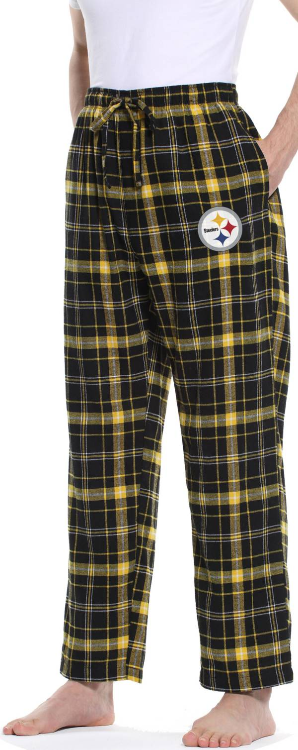 Concepts Sport Men's Pittsburgh Steelers Ultimate Flannel Pants product image