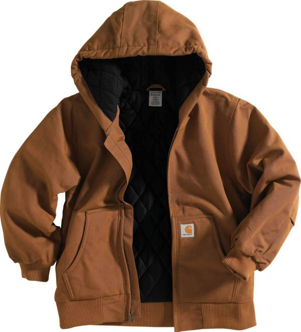 Carhartt Little Boys' Quilted Flannel Duck Active Jacket product image