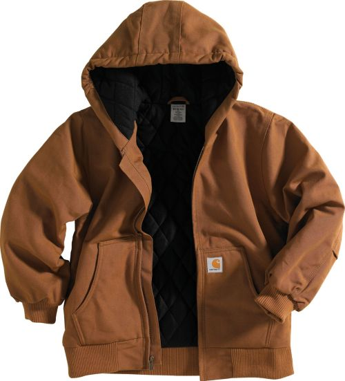 04a0b8f5d Carhartt Little Boys  Quilted Flannel Duck Active Jacket