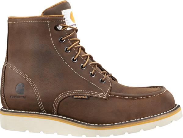 Carhartt Men's Moc Toe Wedge 6'' Waterproof Steel Toe Work Boots product image