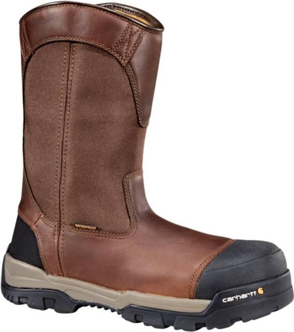 Carhartt Men's Ground Force 10'' Waterproof Composite Toe Wellington Work Boots product image