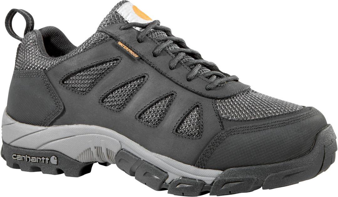 40bb0c24e1e Carhartt Men's Lightweight Low Hiker Waterproof Composite Toe Work Shoes