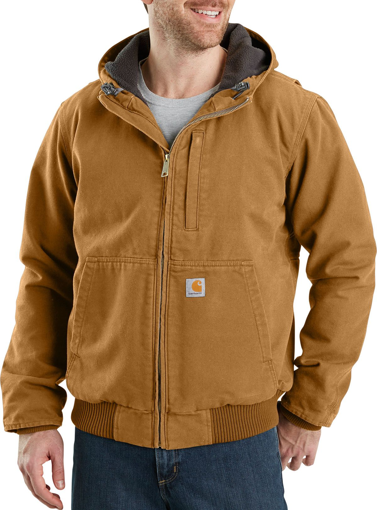 Carhartt jacket brown