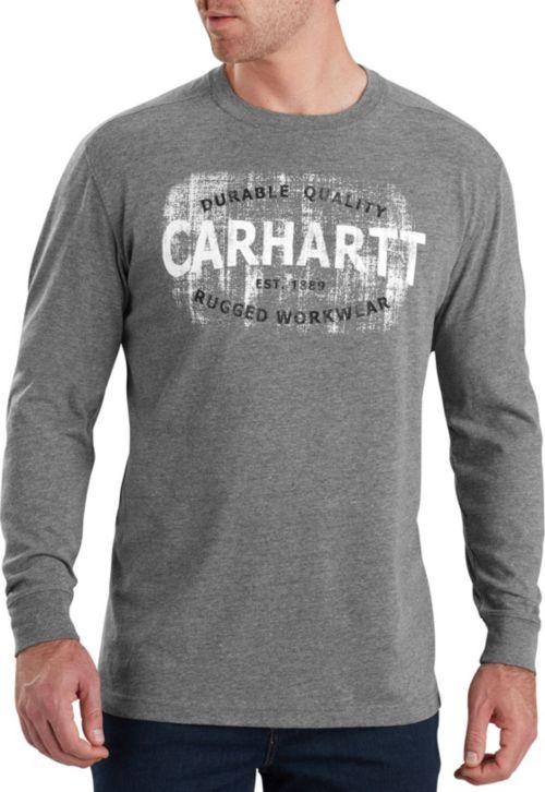 f4ecbdfeaa1 Carhartt Men s Maddock Rugged Workwear Logo Long Sleeve Shirt.  noImageFound. 1