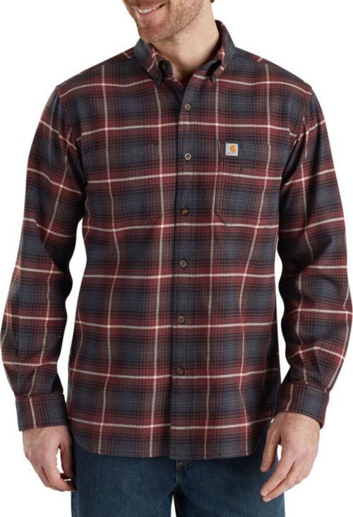 98306612e46 Carhartt Men's Rugged Flex Hamilton Plaid Button Down Shirt | DICK'S ...