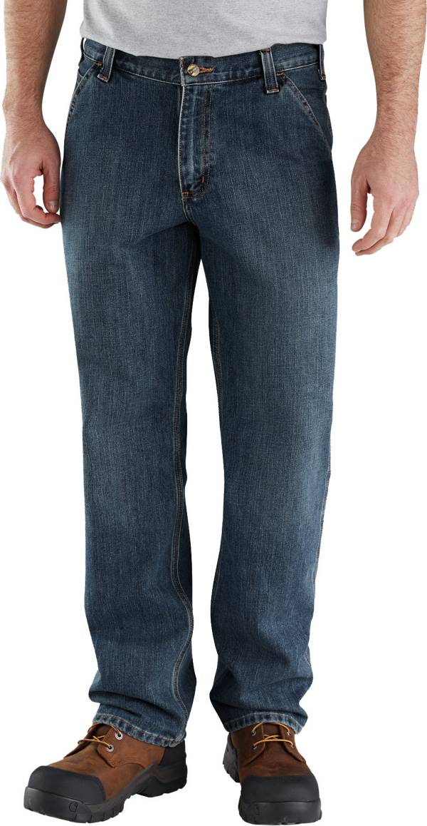 Carhartt Men's Relaxed Fit Holter Denim Dungarees (Regular and Big & Tall) product image