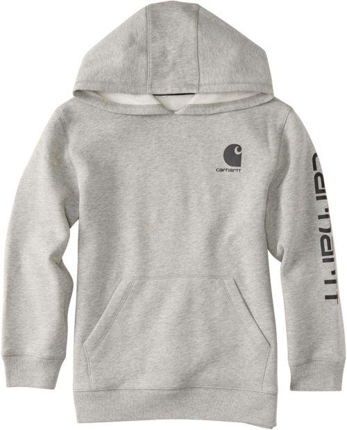 c2bed71d3633 Carhartt Boys  Logo Fleece Hoodie