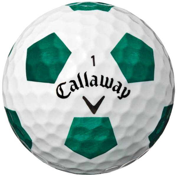 Callaway 2018 Chrome Soft Truvis Green Golf Balls – Sports Matter Special Edition product image