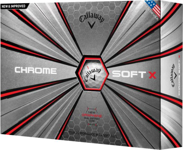 Callaway 2018 Chrome Soft X Golf Balls product image