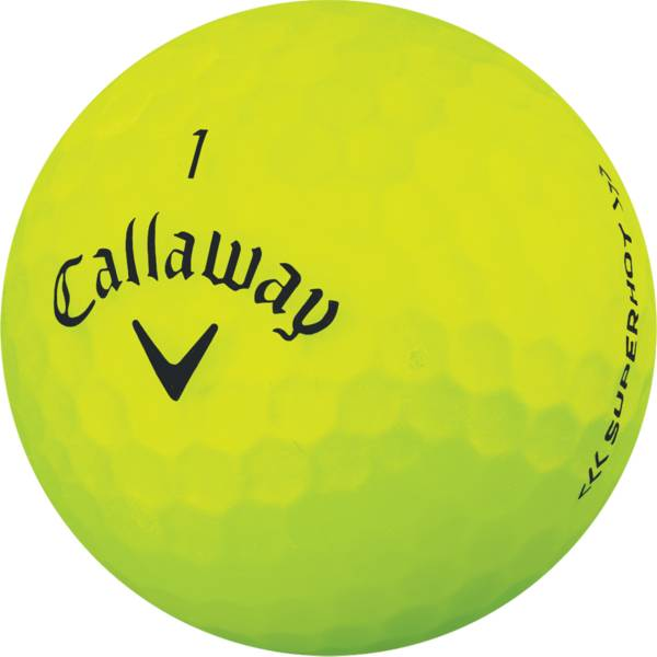 Callaway Superhot BOLD Yellow Golf Balls – 15 Pack product image