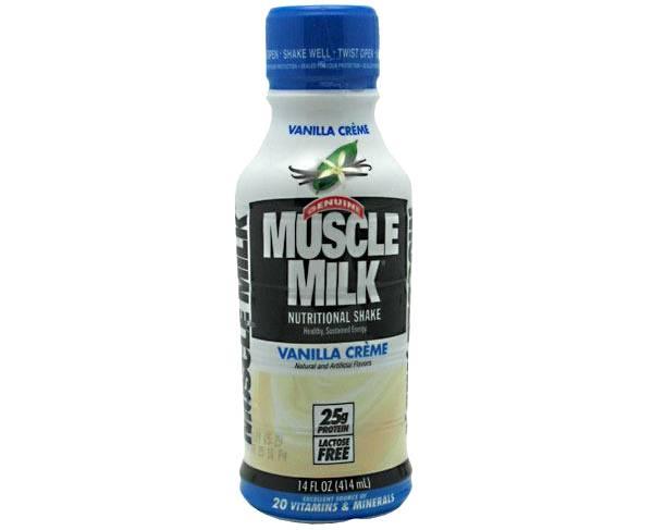 Cytosport Muscle Milk Genuine Protein Shake Vanilla Creme 12-Pack product image