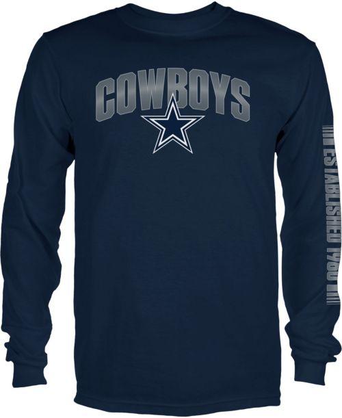 Dallas Cowboys Merchandising Men s Reflex Navy Long Sleeve Shirt.  noImageFound. 1 16ec0bfa7