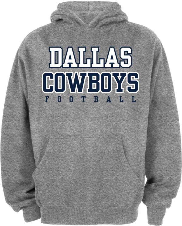 Dallas Cowboys Merchandising Youth Grey Practice Hoodie product image