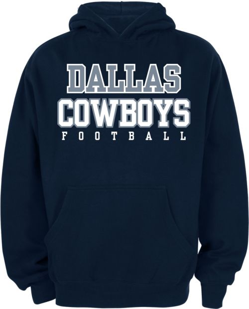 3c07aa5fe Dallas Cowboys Merchandising Youth Navy Practice Hoodie. noImageFound. 1