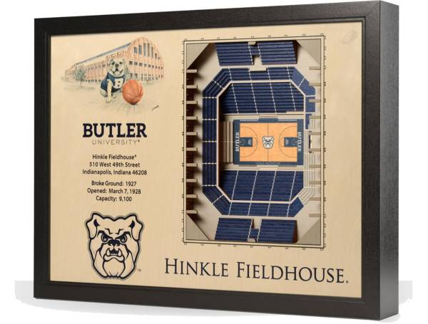You the Fan Butler Bulldogs 25-Layer StadiumViews 3D Wall Art product image