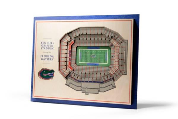 You the Fan Florida Gators 5-Layer StadiumViews 3D Wall Art product image