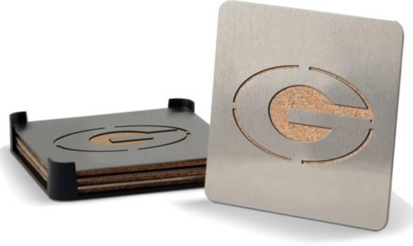 You the Fan Georgia Bulldogs Coaster Set product image
