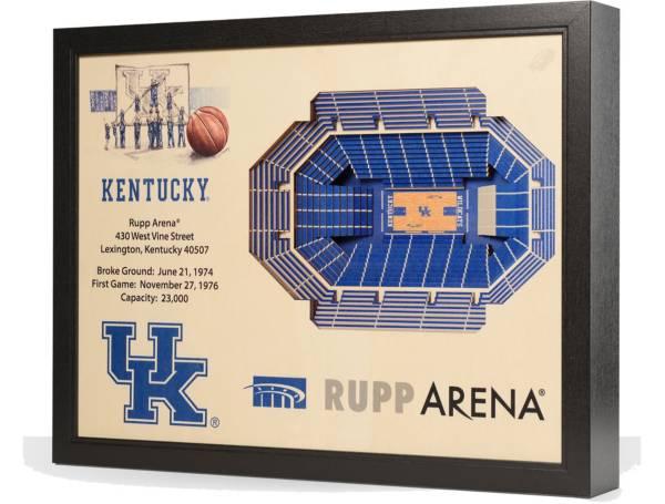 You the Fan Kentucky Wildcats 25-Layer StadiumViews 3D Wall Art product image