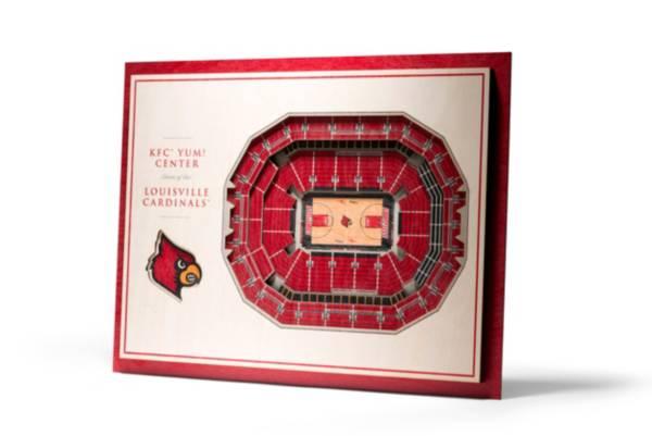 You the Fan Louisville Cardinals 5-Layer StadiumViews 3D Wall Art product image