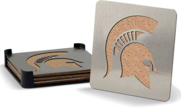 You the Fan Michigan State Spartans Coaster Set product image