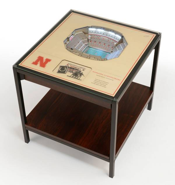 You The Fan North Carolina Tar Heels 25-Layer StadiumViews Lighted End Table product image