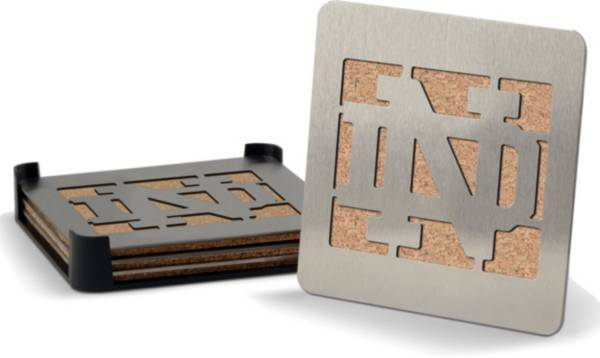 You the Fan Notre Dame Fighting Irish Coaster Set product image