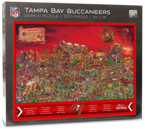 You the Fan Tampa Bay Buccaneers Find Joe Journeyman Puzzle product image