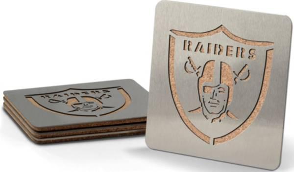 You the Fan Las Vegas Raiders Coaster Set product image