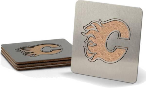You the Fan Calgary Flames Coaster Set product image