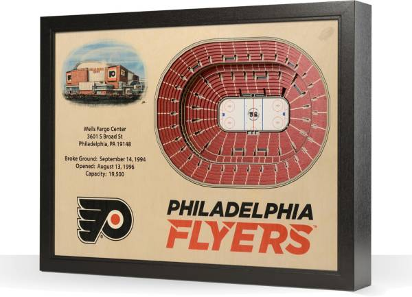 You the Fan Philadelphia Flyers 25-Layer StadiumViews 3D Wall Art product image