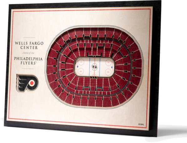You the Fan Philadelphia Flyers 5-Layer StadiumViews 3D Wall Art product image