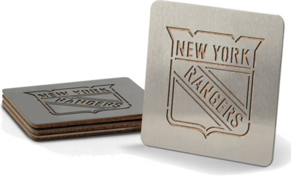 You the Fan New York Rangers Coaster Set product image