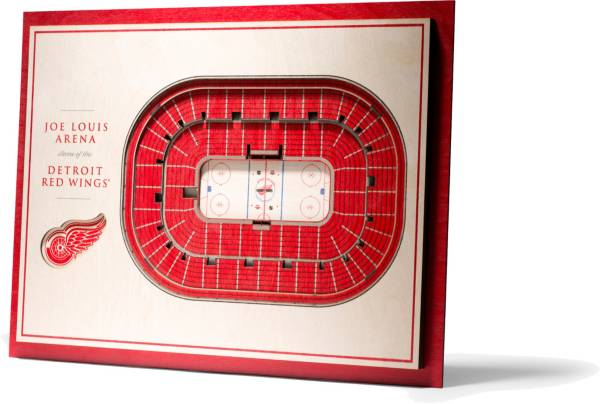You the Fan Detroit Red Wings 5-Layer StadiumViews 3D Wall Art product image