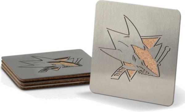 You the Fan San Jose Sharks Coaster Set product image