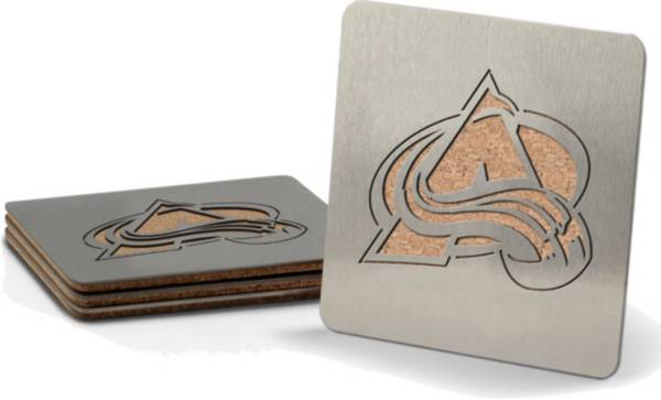 You the Fan Colorado Avalanche Coaster Set product image