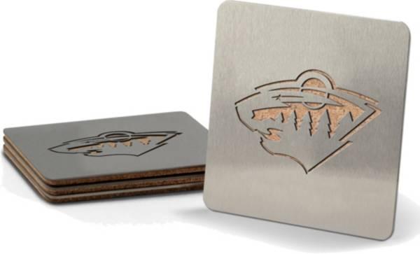 You the Fan Minnesota Wild Coaster Set product image