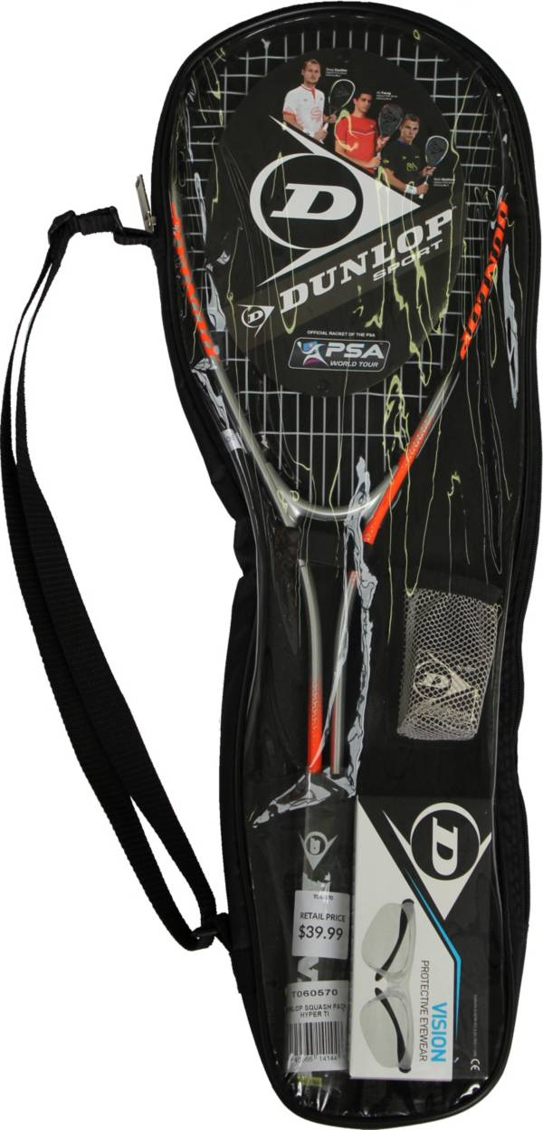 Dunlop Hyper Ti Squash Pack product image