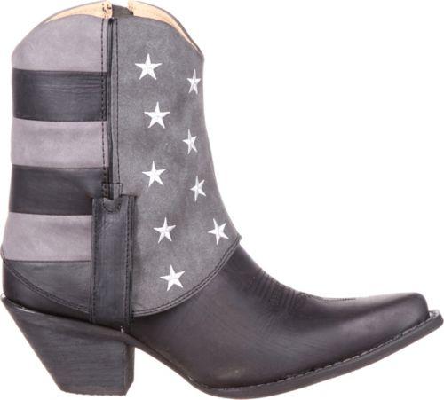 d1aef240c1 Durango Women s Crush Fold-Down Black Flag Western Boots. noImageFound.  Previous