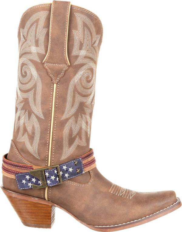 Durango Women's Crush Flag Accessory Western Boots product image