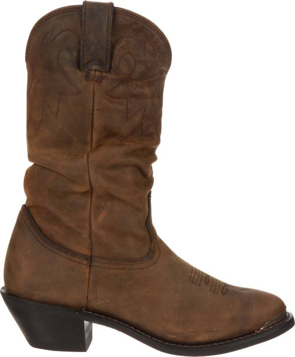 Durango Women's Distressed Tan Slouch Western Boots product image