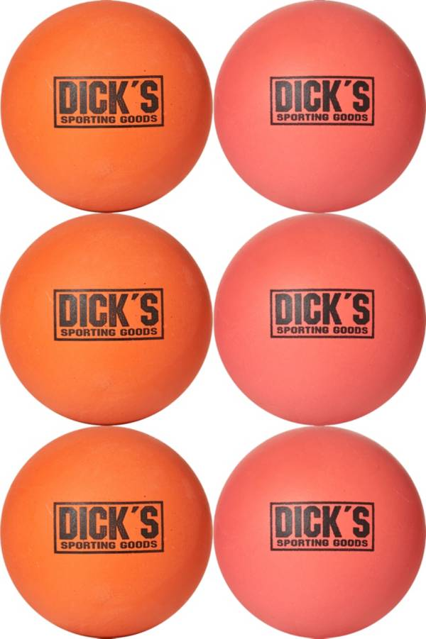 DICK'S Sporting Goods Soft Lacrosse Balls – 6 Pack product image