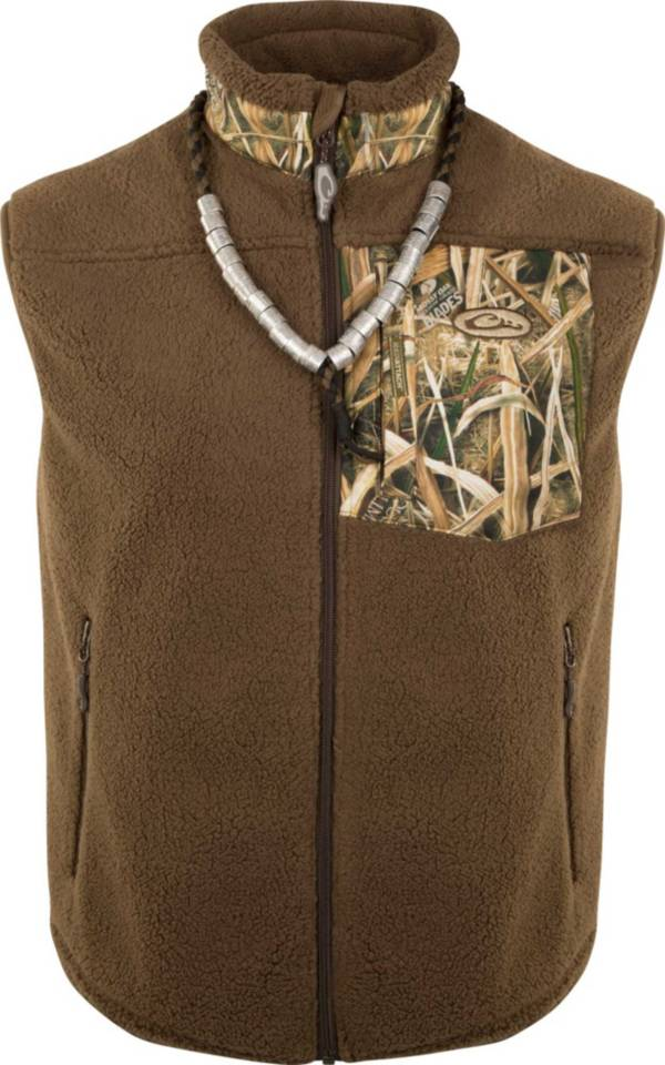 Drake Waterfowl Men's MST Sherpa Hybrid Vest product image