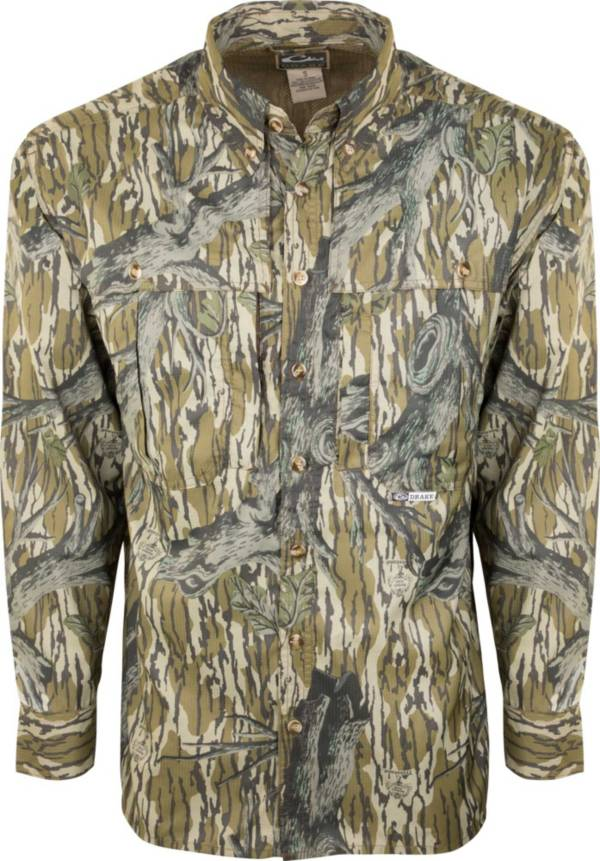 Drake Waterfowl Men's Camo Flyweight Wingshooter's Hunting Shirt product image