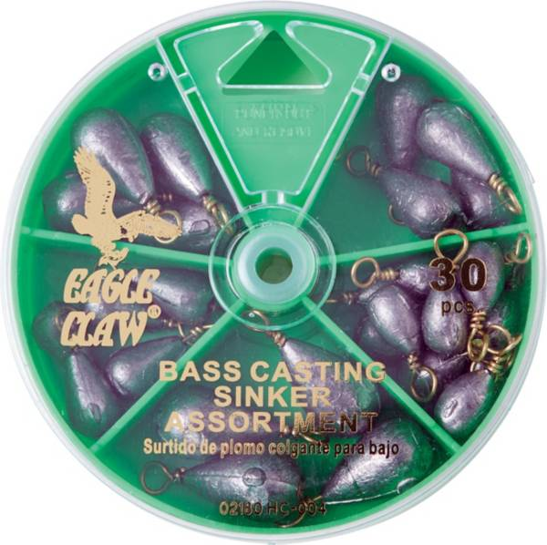 Eagle Claw 30-Piece Bass Casting Sinker Assortment product image
