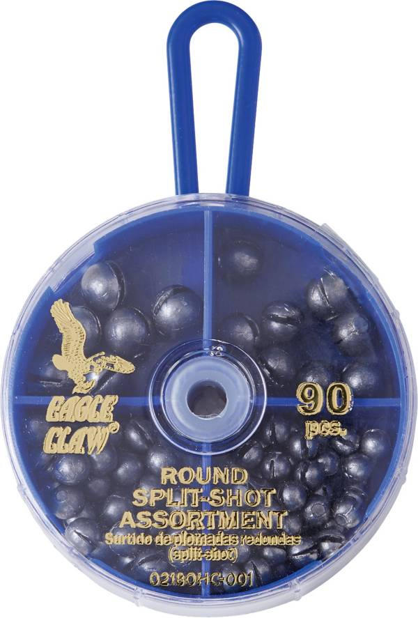 Eagle Claw 90-Piece Split Shot Sinker Assortment product image