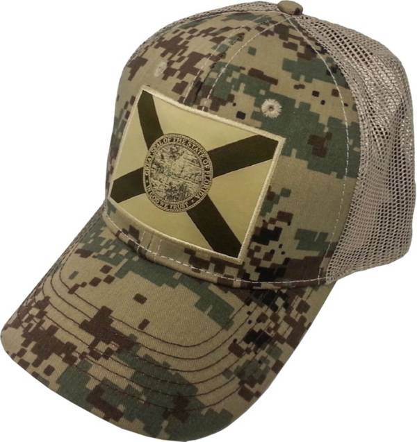 FloGrown Men's Digital Camo Patch Trucker Hat product image
