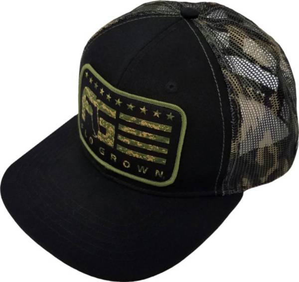 FloGrown Men's Camo Stripes Snapback Hat product image