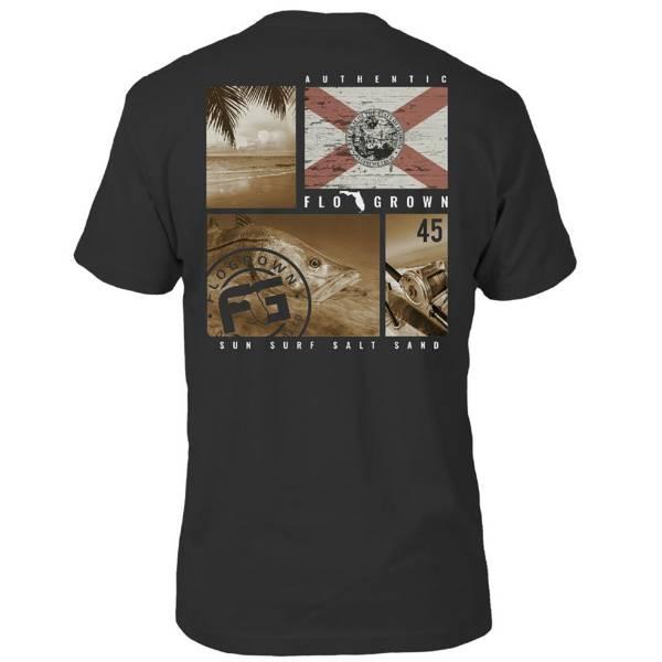 FloGrown Men's Multiplane Snook Short Sleeve T-Shirt product image